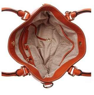 Kors Handbag, Bedford Tote 30S2GBFT3L, Burnt Orange, NWT
