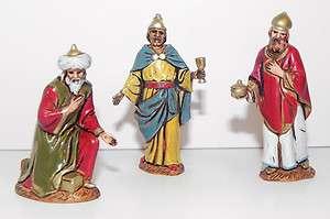 Nativity Wise men Pesebre Manger Scene Kings 2.5