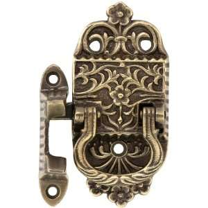 Solid Brass Right Handed Ice Box Latch With Antique By