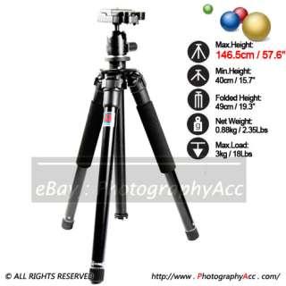 ManBily MBL 306 Travel Tripod Kit Canon Nikon Sony