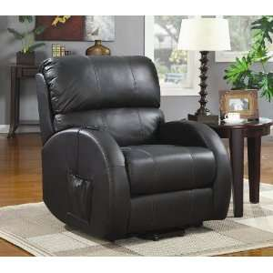 Plains Power Lift Recliner in Black