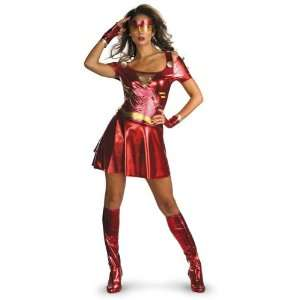 Iron Man 2 Deluxe Sexy Female Costume Large Officially