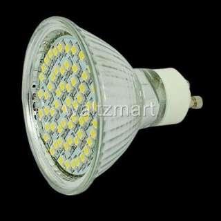 3W GU10 60 3528 SMD LED Light Lamp Bulb Spotlight Warm White 110V