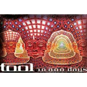 TOOL concert poster 2006 Alex Grey 10,000 days: Home