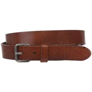 Snap On Oil Tanned Skinny Top Grain Leather Belt