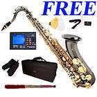 NEW GOLD NICKEL BLUE RED BAND ALTO SAXOPHONE 39 TUNER items in K K