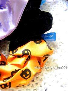 Disney Minnie Mouse Halloween Ponytail Hair Band Bow