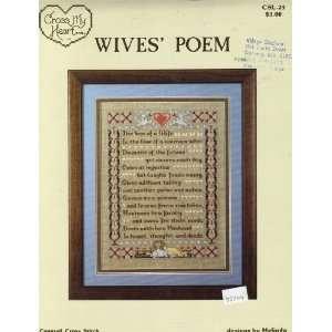 Wives Poem (Cross My Heart CSL 23): Melinda:  Books