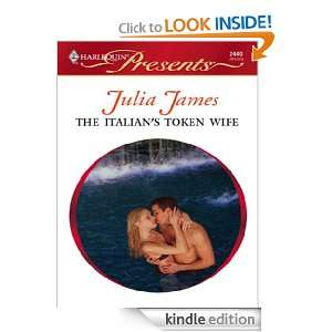 The Italians Token Wife (Harlequin Comics) Julia James