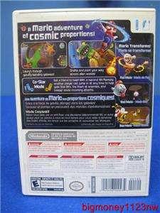 NINTENDO Wii VIDEO GAME   SUPER MARIO GALAXY   Wii VIDEO GAME   NO