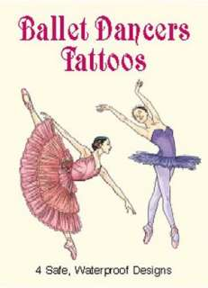 & NOBLE  Ballet Dancers Tattoos by Darcy May, Dover Publications