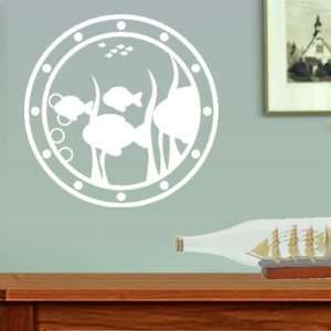 Ships Porthole Underwater Viewing Window Wall Decal