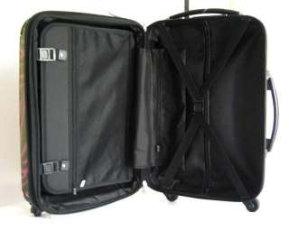 Piece Luggage Set Hard Rolling 4 Wheels Spinner Black