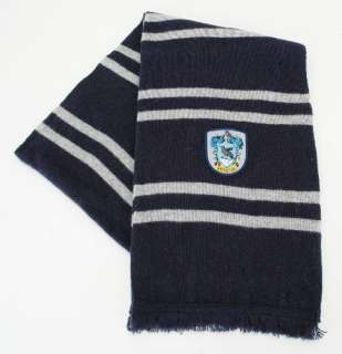 Harry Potter House of Ravenclaw Colors & Crest Scarf