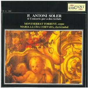 Concerts Per A Dos Teclats Antonio Soler, Montserrat Torrent Music