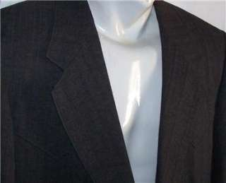 42R Farah CHARCOAL WESTERN COWBOY 2 Button Striped Business Suit men