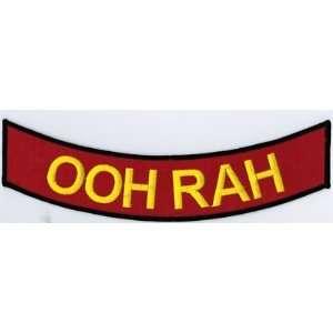 RAH USMC MARINE CORPS Fun BACK ROCKER BIKER PATCH!!: Everything Else