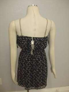 DESCRIPTION  YA Los Angeles Design Navy Blue Fashionable Dress Sz M