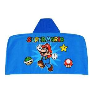 Nintendo Super Mario World The Game Continues Hooded Towel
