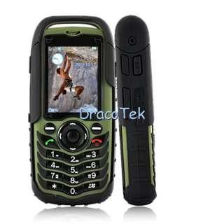 Rugged IP67 grade outdoors cell phone dual SIM waterproof, dustproof