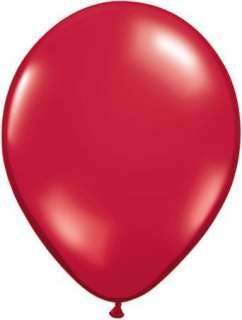 Red, White & Pink Heart Shaped 11 Latex Balloons x 25
