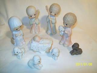 Precious Moments 1979 Come Let Us Adore Him Nativity