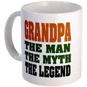 Grandpa   The Legend Funny Mug by CafePress: Kitchen