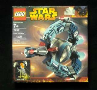 New Sealed Lego Star Wars Droid Tri Fighter 7252 NRFB