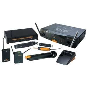 AKG Dual Channel UHF Wireless System With Headset