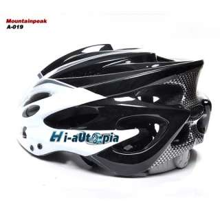 New Cool 21 Holes Sports Bike Bicycle Cycling Black White Helmet Size