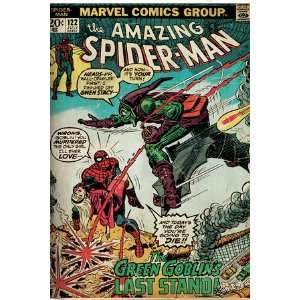 Marvel Comics Retro The Amazing Spider Man Comic Book Cover #122, the