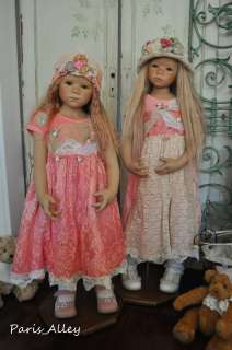 Pink Princess~French Lace Dress & Hat 4 HIMSTEDT Doll