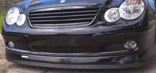 MERCEDES BENZ Front Bumper Lip Splitter AMG C230 C240