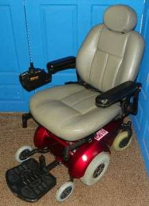 Pride Mobility Jet 3 Electric Wheelchair Has MK Batteries