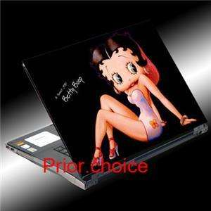 BETTY BOOP NOTEBOOK LAPTOP COVER SKIN STICKER DECAL ART