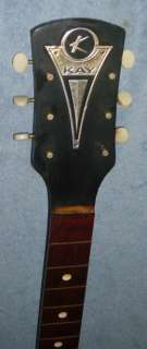 Vintage 50s 60s Kay USA Electric Guitar NECK  PARTS  PROJECT