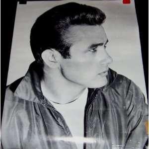 Actor James Dean Portrait Poster (Movie Memorabilia
