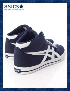 Brand New ASICS AARON MT CV Shoes Navy/White #18