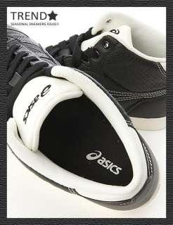 BN ASICS AARON MT LE DX BLACK/BLACK Shoes #21