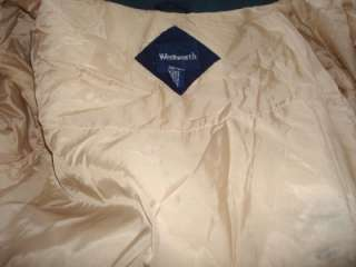 Mens preowned Wentworth navy jacket, size large.
