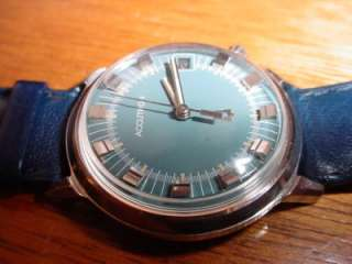 Bulova Accutron Mens Wrist Watch w/ Calendar