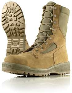 M161 WELLCO MOJAVE HOT WEATHER STEEL TOE COMBAT BOOTS