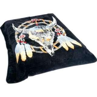 Soft 79 x 91 Dream Catcher King/Queen Blanket New