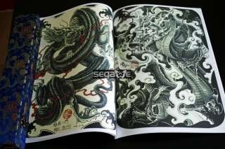 TAIWAN Tattoo Flash Magazine Art Sketch Book DQDC