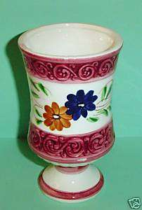 GREEN ACRES TV SHOW PROPS HANDPAINTED FLOWER VASE