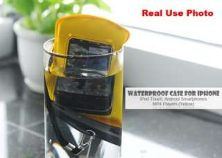 Waterproof Case for iPhone, iPod Touch, Android Smartphones, MP4