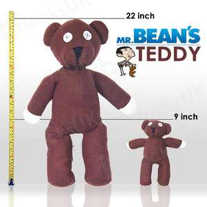MR.BEANS TEDDY BEAR OFFICIAL RARE PLUSH SOFT TOY DOLL 22 or 9 or
