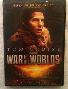 War of the Worlds DVDTOM CRUISE Steven Spielberg Film