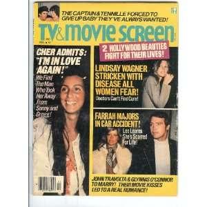 Lee Majors Bionic Woman Lindsay Wagner Cher TV & Movie Screen: TV