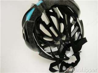 2012 Giro Aeon Black and Turquoise Bicycle Helmet   Large   NEW